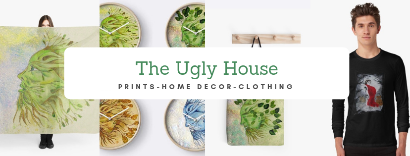 redbubble shop theuglyhouse